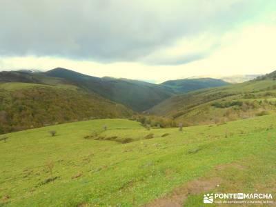 Parque Natural Saja-Besaya y Valderredible (Monte Hijedo) travesias senderismo grandes rutas senderi